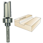 Whiteside 3014 Template Bit, 1/4 SH x 3/4 CD x 1 CL