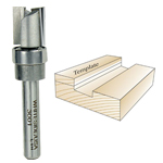 Whiteside 3001 Template Bit - 1/4 SH X 1/2 CD X 1/2 CL
