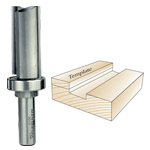 Whiteside 3019 Template Bit - 1/2 SH X 1-1/8 CD X 2 CL