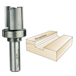 Whiteside 3016 Template Bit, 1/2 SH x 1-1/8 CD x 1 CL