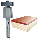 WHITESIDE #2650 LAMINATE TRIM BIT WITH EURO SQUARE BEARING - 1/4