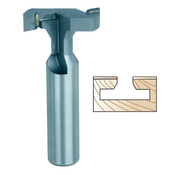 Whiteside 3075 T-Slot Cutter Bit - 1/2 Inch SH X 1-3/16 Inch LD X 3/8 Inch SD