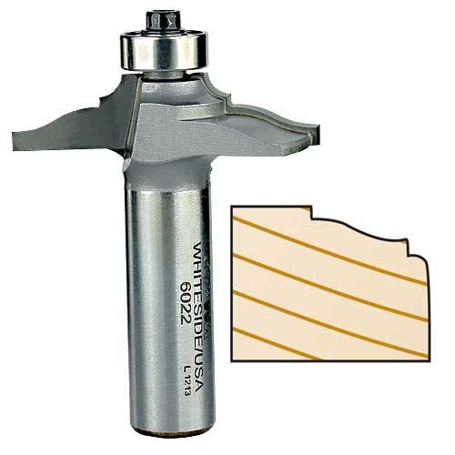 Whiteside 6022 Front Face Door Edge Router Bit, 1/2-Inch Shank x 1-3/4-Inch LD