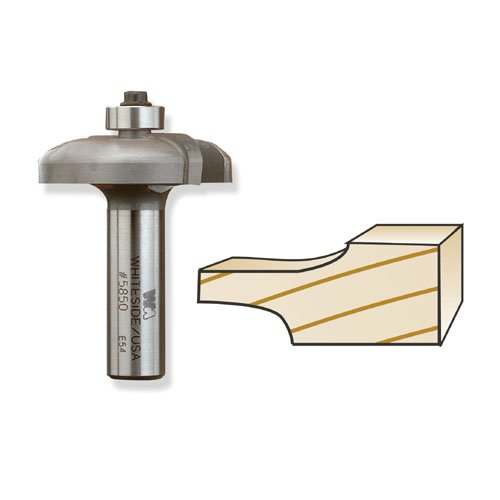 Whiteside 5850 Raised Panel Back Cutter Bit - 1/2 Inch SH