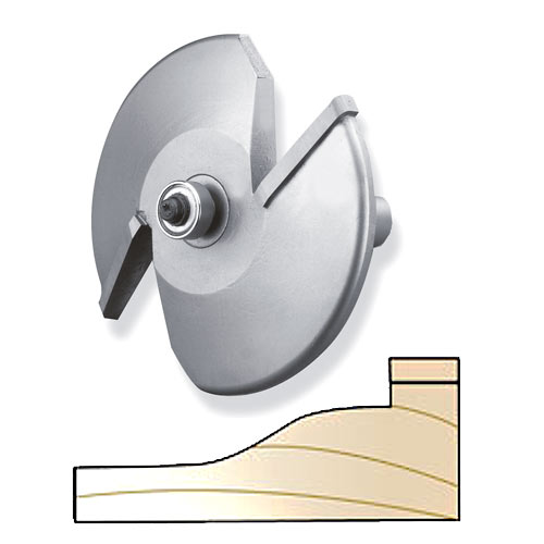 Whiteside 5900H 2-Wing Ogee Raised Panel Bit - 1/2 Inch SH