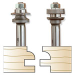 Whiteside 5740 Miniature Round Stile & Rail Set, 1/2 SH x 1-1/8 LD