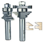 WHITESIDE #6006 CLASSICAL STILE & RAIL BIT SET - 1/2 SH