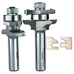 WHITESIDE #6005 TRADITIONAL STILE & RAIL BIT SET - 1/2 SH