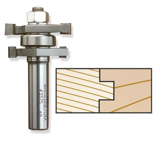 Whiteside 3375 Tongue & Groove Assembly Router Bit, 1/2-Inch SH x 1-5/8-Inch LD
