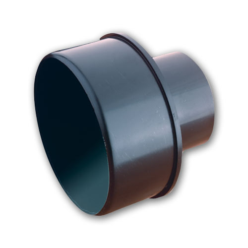 DUST COLLECTION HOSE REDUCER FITTING - 4 INCH X 3 INCH