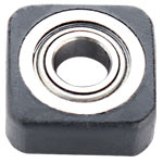 WHITESIDE #B3SQ EURO SQUARE BEARING - 1/2 OD X 3/16 ID