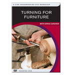 TURNING FOR FURNITURE WITH ERNIE CONOVER DVD