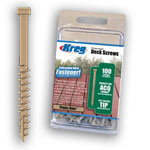 KREG PROTEC-KOTE DECK SCREWS - 100 CT.