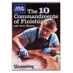 THE 10 COMMANDMENTS OF FINISHING WITH STEVE SHANESSY DVD