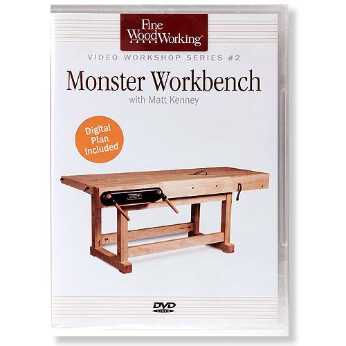 Fine Woodworking Monster Workbench with Matt Kenney DVD