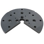 ONEWAY #2756 STRONGHOLD CHUCK FLAT JAWS