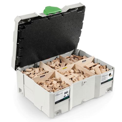 Festool 498899 DF 500 Domino Tenon Systainer Assortment