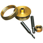 Whiteside 9500 Standard Brass Router Inlay Kit