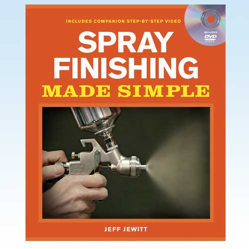 SPRAY FINISHING MADE SIMPLE BOOK WITH  DVD