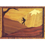 SAUERS & CO. FOOTHILLS HIKER MARQUETRY KIT