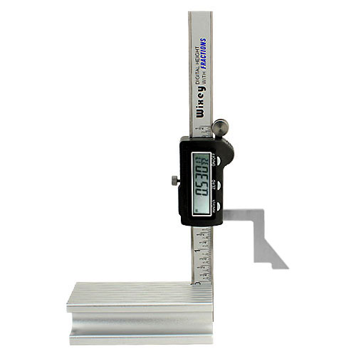 Wixey #WR200 Digital Height Gauge With Fractions