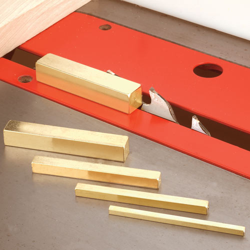 WHITESIDE #9810 BRASS BAR SET-UP KIT -  4 INCH