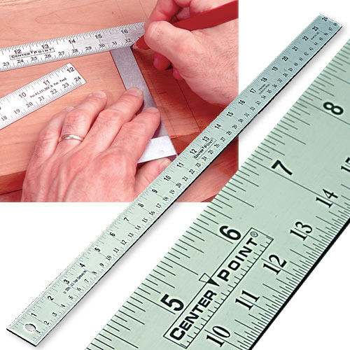 CENTER POINT CENTER RULER - 24 INCH