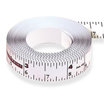 CenterPoint Self-Adhesive Bench Measuring Tape - 12 Ft.
