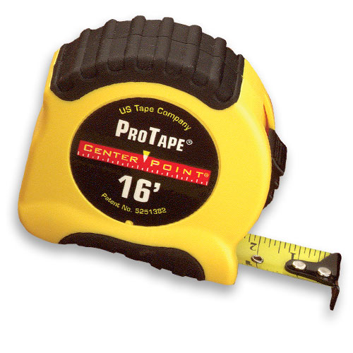 CENTER POINT MEASURING TAPE - 16 FT