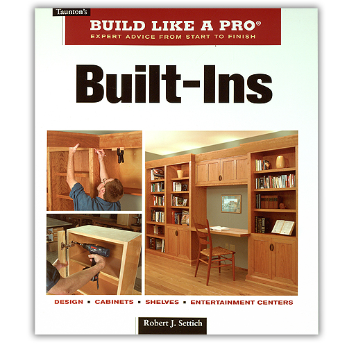 BUILD LIKE A PRO: BUILT-INS BOOK