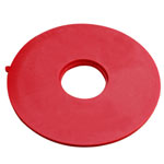 HART DESIGN ROUTER PLATE CENTER DISK W/ P-C BUSHING HOLE
