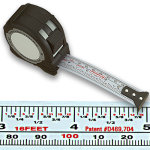 FastCap Flatback Metric / Standard Tape Measure - 16 Ft.