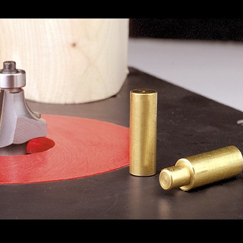 Hart Design Router Table Plate Brass Router Starting Pin