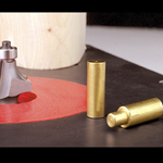 HART DESIGN ROUTER TABLE PLATE BRASS STARTING PIN