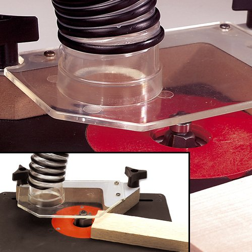 Hart Design Freehand Router Table Bit Guard With Vacuum Attachment