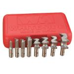 Whiteside #600 8 Pc. Incra Hingecrafter Router Bit Set - 1/2 Shank