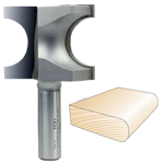 Whiteside 1434 Bull Nose Bit, 1/2 SH x 1/2 R x 1 CD