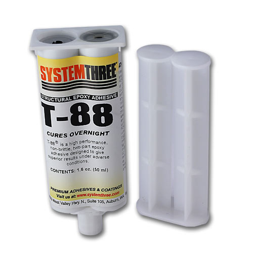 System Three T-88 Structural Epoxy - 1 6 oz  Syringe