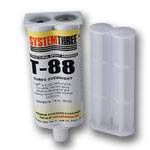 System Three T-88 Structural Epoxy - 1.6 oz. Syringe