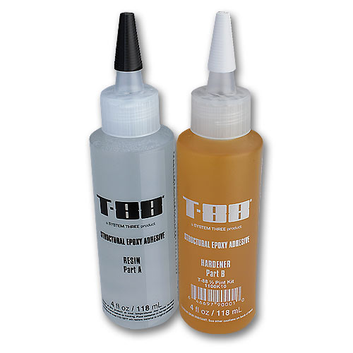 System Three T-88 Structural Epoxy - 8 oz  Kit