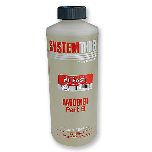 System Three General Purpose Epoxy Hardener #1 - Quart
