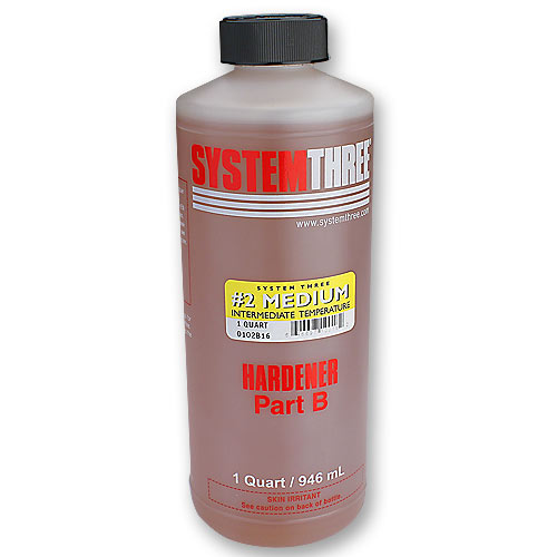 System Three General Purpose Epoxy Hardener #2 - Quart