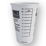 System Three 12 oz. Graduated Mixing Cups - 100 Pk.