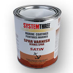 SYSTEM THREE SATIN SPAR VARNISH - QUART