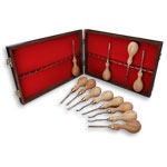 Sorby #512 12 Pc. Micro Woodcarving Tool Set