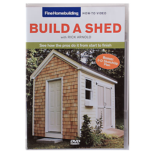 BUILD A SHED WITH RICK ARNOLD DVD