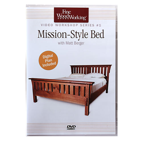 Mission-Style Bed with Matt Berger DVD