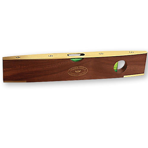 CROWN #SLW ROSEWOOD TORPEDO LEVEL - 9 INCH