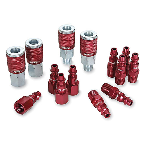 LEGACY COLORCONNEX 14 PC  COUPLER AND PLUG SET - RED TYPE