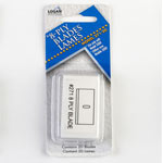 LOGAN #271 8 PLY REPLACEMENT MAT CUTTING BLADES - 20 PK.